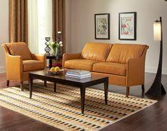 Stickley Pita Settee & Chair #livingroom