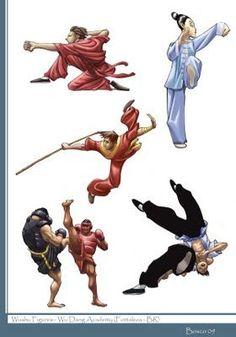 Bosco Art: Wushu Figures