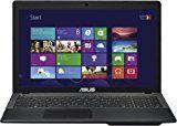 Asus F552EA-SX039D 39,6 cm (15,6 Zoll) Notebook (AMD E1-2100, 1,1GHz, 4GB RAM, 500GB HDD, Radeon HD 8210, DVD, DOS, kein Betriebssystem) schwarz