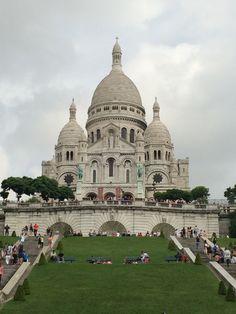 Sacré-Cœur #france #paris #travel #monuments #sacrecoeur #montmartre