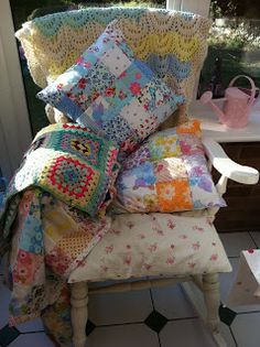 patchwork and lace blog