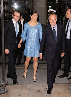 Princess Victoria Photos - Victoria and Daniel of Sweden - Dinner at French Ministry of Culture - Zimbio