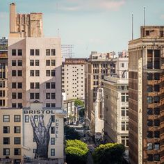 Downtown Los Angeles / photo by Dan Marker-Moore