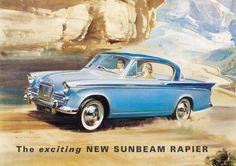 Sunbeam Rapier brochure
