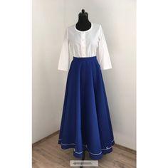Lovagló szoknya-kék Waist Skirt, High Waisted Skirt, Capes, Skirts, Blue, Dresses, Fashion, Moda, Vestidos