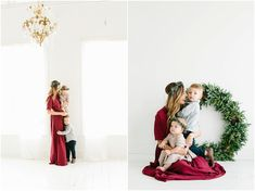 Have head wreaths in different sizes Christmas Mini Sessions, Christmas Minis, Simple Christmas, Holiday Mini Session Ideas, Christmas Nails, Christmas Trees, Christmas Crafts, Christmas Decorations, Winter Photos