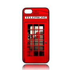 London Telephone Box iphone 5 5s case | MJScase - Accessories on ArtFire #accessories #case #cover #hardcase #hardcover #skin #phonecase #iphonecase #iphone4 #iphone4s #iphone4case #iphone4scase #iphone5 #iphone5case #iphone5c #iphone5ccase #iphone5s #iphone5scase #movie #londonteleponebox #artfire.