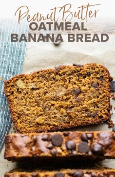 Learn how to make the most scrumptious and healthy banana bread using oat flour! It's super hearty, has a delicious moist texture, and is naturally sweetened using coconut sugar. This oatmeal banana bread is perfect for any occasion and is dairy-free and gluten-free friendly! Easy Clean Eating Recipes, Healthy Dessert Recipes, Easy Desserts, Real Food Recipes, Baking Recipes, Breakfast Recipes, Healthy Deserts, Breakfast Options, Flour Recipes