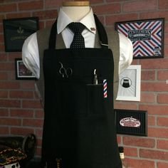 barber apron by sartorandvillain on Etsy https://www.etsy.com/listing/277810690/barber-apron