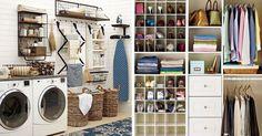 20 dekoratív és okos tárolási ötlet
