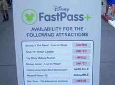 FastPass+ Attraction Status Signs, Disneys Hollywood Studio, Walt Disney World Disney Fast Pass, Disney Fun, Walt Disney, Disney 2015, Disney Stuff, Disney Parks, Disney World Rides, Disney World Vacation, Disney Vacations