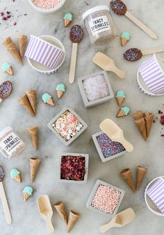 Swap the cake and candles for a breathtaking DIY ice cream bar at your next summer birthday party.