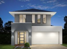 New House U0026 Land Package   Example Of Facade