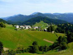 Словения - Хорватия без городов. Приезд