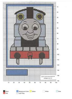 THOMAS THE TRAIN GARDEN FLAG by CREATIVECANVASCRAFTS.COM