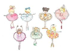 Ballerina Print on Etsy, $24.95