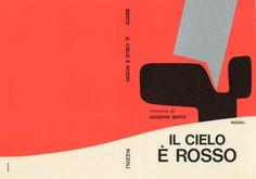 Mario Dagrada, cover design for Rizzoli, 1960s. Via aiap.it