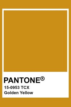 sparkles on this one? (idk how to describe it) Golden Yellow Color, Mellow Yellow, Shades Of Yellow, Pantone Swatches, Color Swatches, Pantone Colour Palettes, Pantone Color, Colour Pallete, Colour Schemes