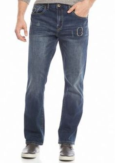 Red Camel  Bootcut Stretch Patched Jeans