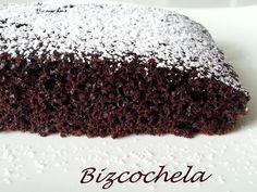 torta de chocolate sin huevos ni leche