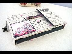 mini album scrapbooking - tutorial album de verano 2016 - YouTube