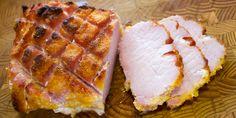 How to Cook a Whole Peameal Bacon Roast with Maple Syrup Glaze