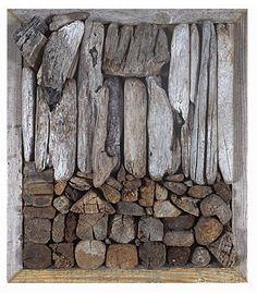 Driftwood Assemblage by John Dahlsen