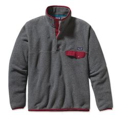 Patagonia Men's Lightweight Synchilla® Recycled Fleece Snap-T® Pullover - Patagonia - $99.00