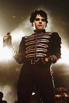 Gerard Way of My Chemical Romance~ 'I won't explain or say I'm sorry, I'm not ashamed, I'm gonna show my scars, give a cheer for all the broken, and listen here cause it's who we are'
