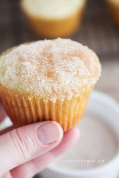 These easy applesauce muffins are a go-to snack in our family. My kids love it when a fresh batch of them are waiting after school. They're easy to make, but that cinnamon sugar topping makes them hard to resist!