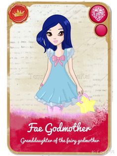 EAH~ Fae Godmother by LittleYellowPikachu on DeviantArt