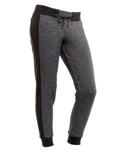 The Sexy Sweatpant  These pants are the perfect pair for air conditioned indoor workouts, pre- and post-gym layering, or any outdoor exercise. But the best part about these sweatpants are that you can throw them on with a pair of booties and wear them out on the town. They're that flattering.