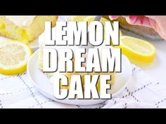Easy Lemon Dream Cake starts with a boxed cake mix swirled with lemon pie filling. All topped with a creamy, lemony whipped topping! Vanilla Cake Mixes, Lemon Cake Mixes, Lemon Desserts, Lemon Recipes, Dump Cake Recipes, Dessert Recipes, Chocolate Swirl Cheesecake, Chocolate Cobbler, Lemon Dream Cake