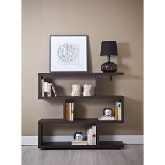 Estantería zig zag barata serie 6311 - TopKit #muebles #decoracion #interiorismo #estanterias #salon