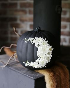 This pumpkin's got style. The most stunning pumpkins in town