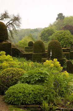 Mapperton Garden, Beaminster, Dorset, England