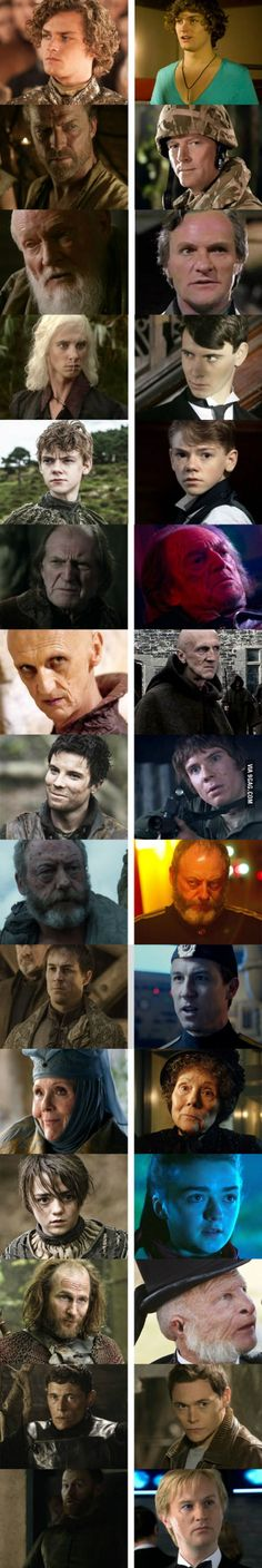 Game of Thrones & Doctor Who