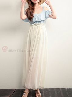 Maxi Dress #buytrends #fashion #style #dress