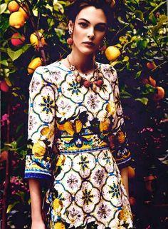 Gemini loves lemons Marie Claire Arabia July 2014 - http://simplysunsigns.com/