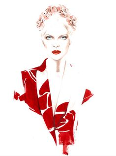 Escada SS 2014 by antonio soares, via Behance