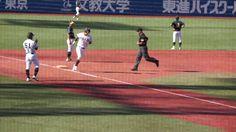 160906 亜細亜大・3回上田タイムリー&毛塚ホームラン
