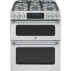 GE Cafe™ Series 6.7 cu. ft. Freestanding Gas Range w/ Double Convection Oven - Stainless Steel $3100.00