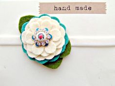 cutest flower headband @Mary Randall  in these colors and lavender, newborn size