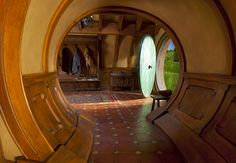 hobbiton: Archives - OH MY what a beautiful library of images. all hobbit holes. Sustainable Architecture, Architecture Design, Residential Architecture, Contemporary Architecture, Hobbit House Interior, Casa Dos Hobbits, Underground Homes, Earth Homes, Tolkien