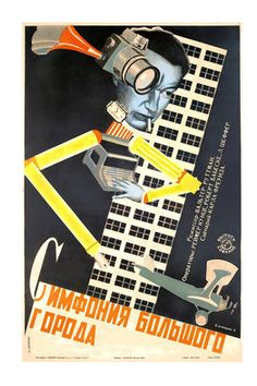 Further influence of constructivism in film posters. The abstract nature of constructivist art can be seen in the arrangement of objects in the poster's design. Stenberg Brothers (The Red List, Vintage Movies, Vintage Posters, Vintage Art, Retro Posters, Eslava, Russian Constructivism, Avantgarde, Russian Avant Garde, Kunst Poster