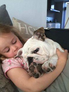 Awww. sweetness. Baggy Bulldogs