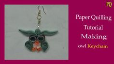 paper quilling - making owl
