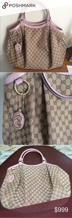 Gucci sukey large bag Beautiful bag in amazing condition.. little big for me. Looking for size medium.                           Measurements: 15'in H 17'in W and 6'in deep Gucci Bags