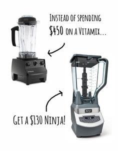Blender: Vitamix vs. Ninja