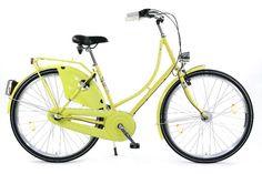 Hollandrad Damen Cityrad Nostalgierad Fahrrad gelb 28 Zoll NEU